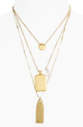 Women's Madewell Treasure Pendant Necklace Set