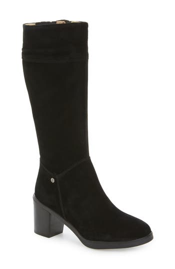 Hush Puppies Saun Olivya Tall Boot, Black