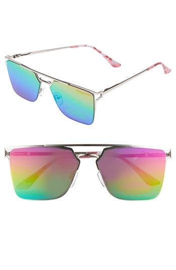 Women's Circus By Sam Edelman 56Mm Flat Top Sunglasses - Pink