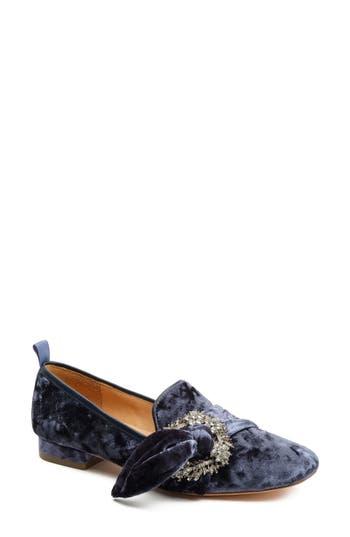 Women's Bill Blass Laverne Embellished Loafer, Size 6 M - Blue