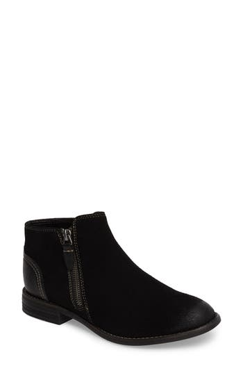 Clarks Maypearl Juno Ankle Boot, Black