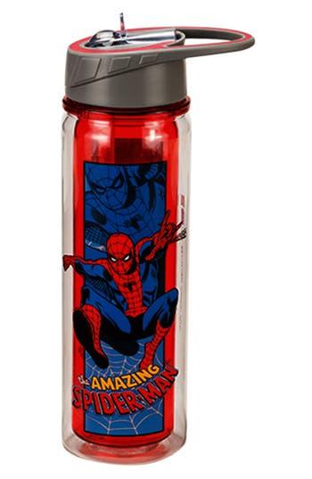 Vandor Tritan Amazing Spider-Man Water Bottle, Size One Size - Blue