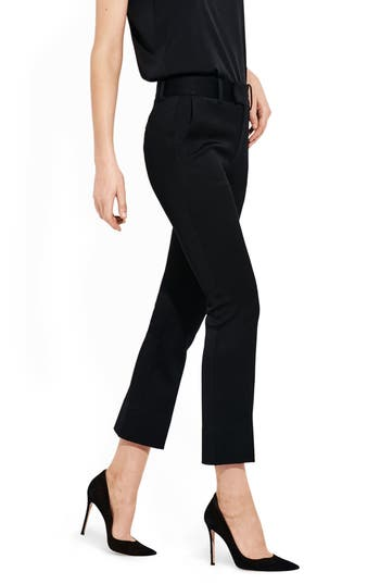 AYR The Vault High Waist Ankle Bootcut Jeans in Black