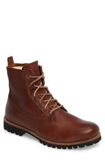 Men's Blackstone Im 12 Plain Toe Boot With Genuine Shearling