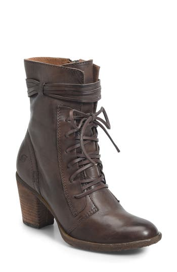 B?rn Cirque Lace-Up Bootie, Brown