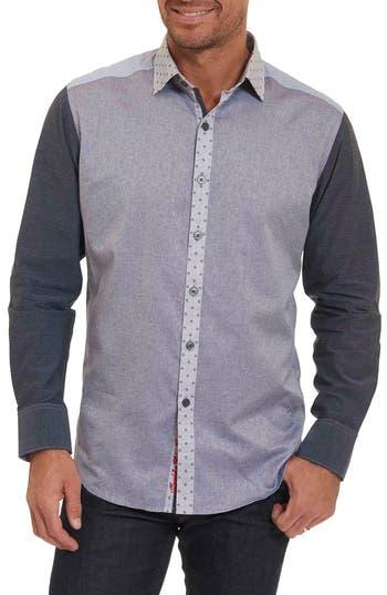Men's Robert Graham Bergamot Tailored Fit Sport Shirt
