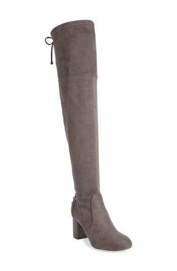 Charles By Charles David Ollie Over The Knee Boot, Grey