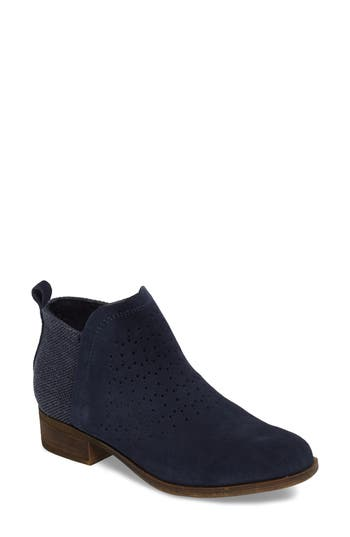 Women's Toms Deia Zip Bootie, Size 8 M - Blue