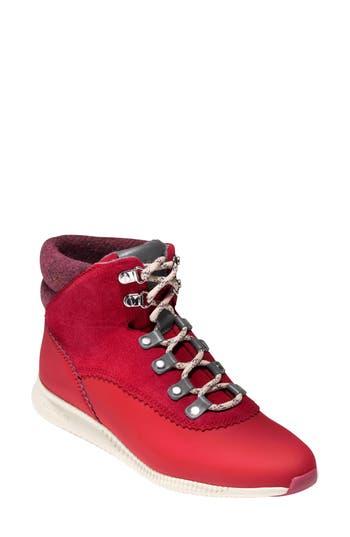 Cole Haan 2.zer?grand Waterproof Hiking Boot, Red