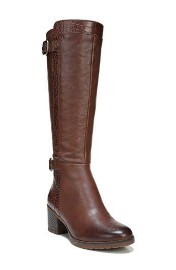 Naturalizer Rozene Knee High Boot, Regular Calf N - Brown