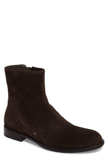 John Varvatos Star Usa Waverly Zip Boot, Brown