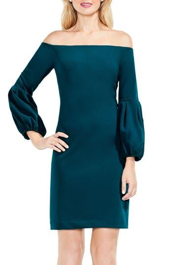 Vince Camuto Blouson Sleeve Dress, Green