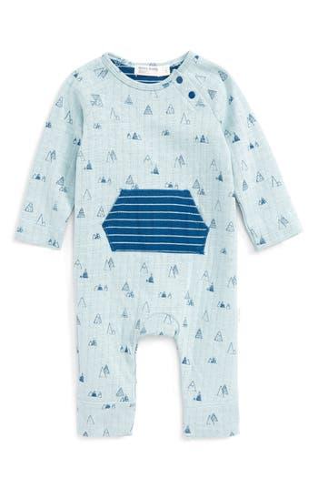 Infant Boy's Miles Baby Kangaroo Pocket Romper