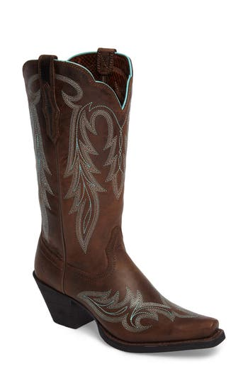 Ariat Round Up Renegade Western Boot, Brown
