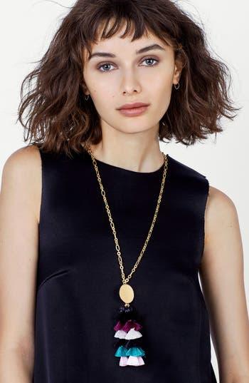 Women's Baublebar Rima Tassel Necklace