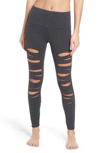 Onzie  YOGA APPAREL HIGH WAIST OPENWORK LEGGINGS