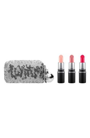 MAC Snow Ball Pink Mini Lipstick Kit - Pink