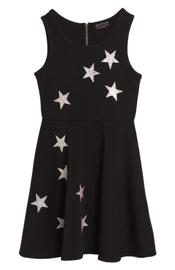 Girl's Hannah Banana Star Embellished Dress