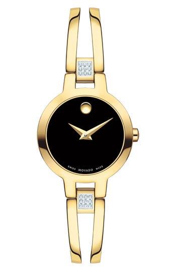 Women's Movado Amorosa Bracelet Watch, 24Mm