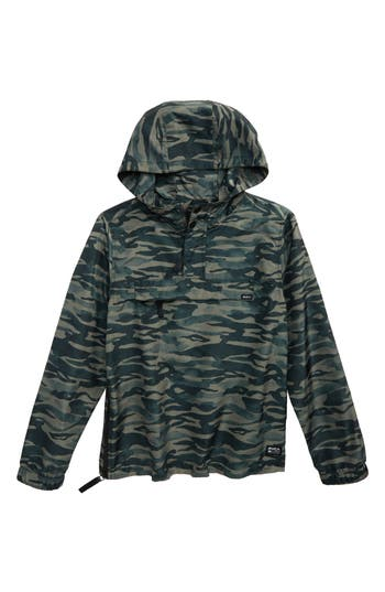 Boy's Rvca Packaway Hooded Anorak