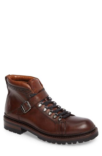 Frye George Plain Toe Boot, Brown
