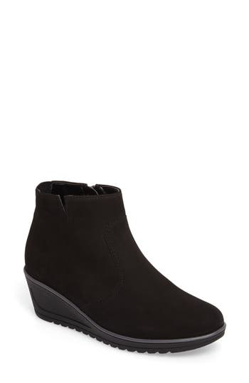 Ara Hessa Wedge Bootie, Black