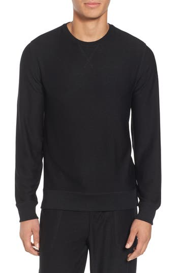 Nordstrom Shop Ultra Soft Crewneck Sweatshirt, Black