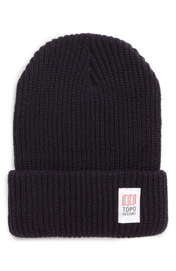 Men's Topo Designers Heavyweight Knit Cap - Blue