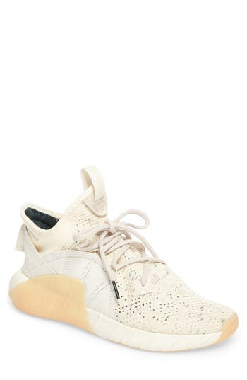 best loved 6f6ab 2af0a Adidas Originals Men S Tubular Rise Primeknit Sneakers In Core White  Silver