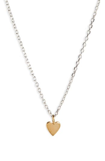 Women's Madewell Vermeil Pendant Necklace