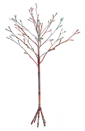 Nordstrom At Home Large Global Folk Wire & Yarn Tree
