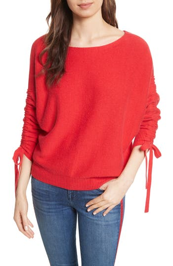 Joie Dannee Wool & Cashmere Sweater, Red