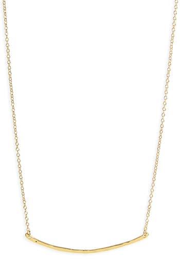 Women's Gorjana Taner Bar Small Necklace
