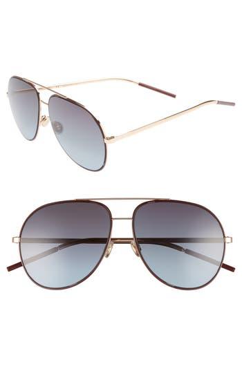 Dior Astrals 5m Aviator Sunglasses - Burgundy Gold