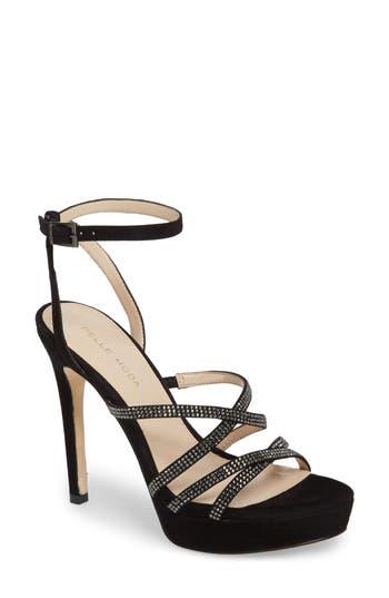 Women's Pelle Moda Oak Platform Sandal, Size 6 M - Black
