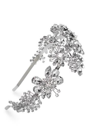 1920s Headband, Headpiece & Hair Accessory Styles Cara Ornate Crystal Headband $48.00 AT vintagedancer.com