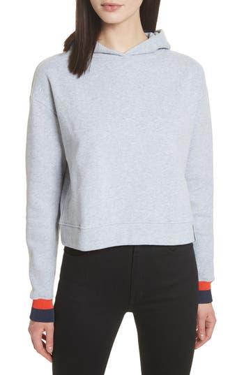 Kule The Crosby Hooded Sweatshirt, Grey