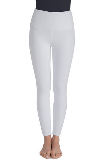 Lysse Harper High Waist Leggings, White
