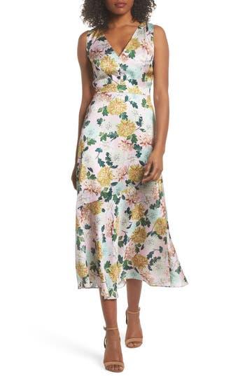 Sam Edelman Vintage Floral Midi Dress, Pink