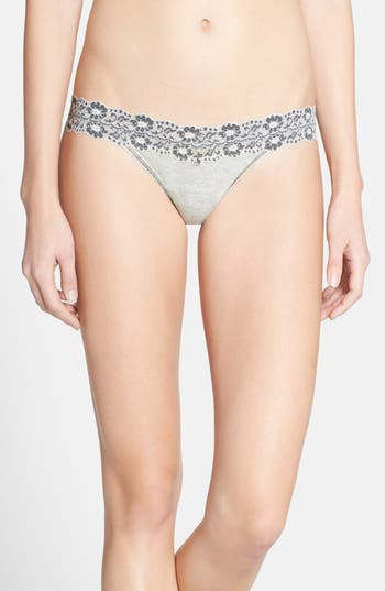 Women's Hanky Panky 'Heather' Jersey Low Rise Thong