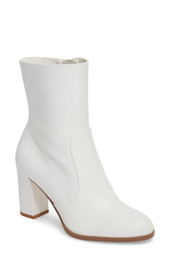 Chinese Laundry Craze Bootie- White