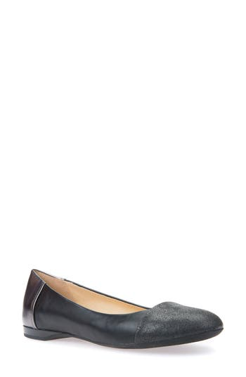 Geox Lamulay Flat, Black