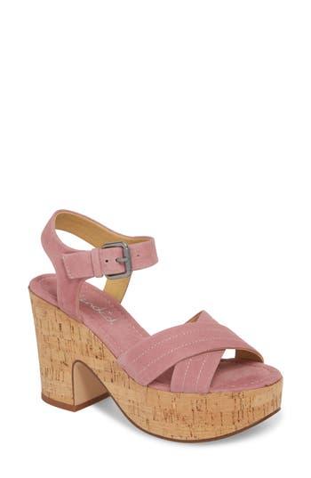 Splendid Flaire Platform Sandal, Pink