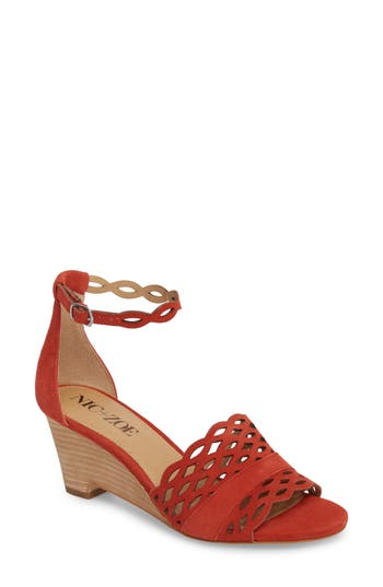 Nic+Zoe Flora Wedge Sandal, Red