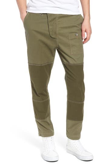 Hudson Jeans Slouchy Slim Fit Cargo Pants, Green