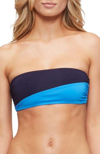 Tavik Moon Strapless Bandeau Bikini Top, Blue