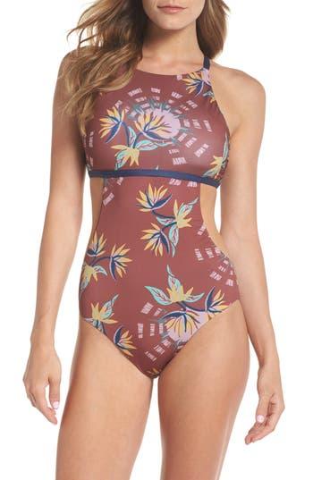 Patagonia Nireta One-Piece Swimsuit, Pink