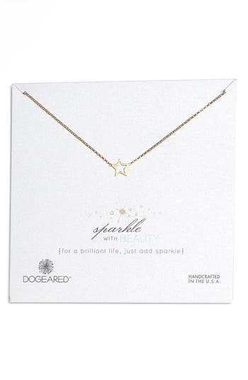Dogeared SPARKLE WITH BEAUTY NECKLACE