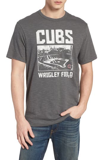 47 Mlb Overdrive Scrum Chicago Cubs T-Shirt, Grey