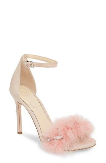 Jessica Simpson Jolinda Feathered Sandal